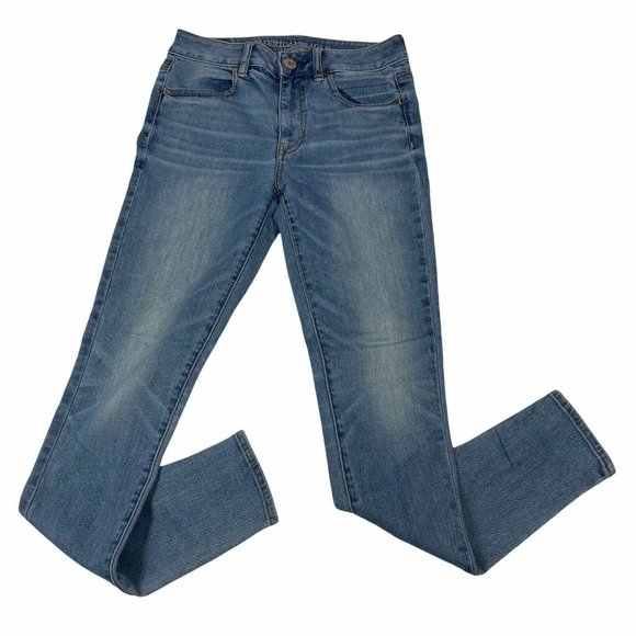 AEO Jeans Women's 2 High Rise Jegging Stretch
